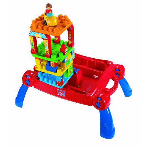 Mega Bloks Play and Go Table
