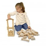Let Your Children Build Their First Architectural Masterpiece with Melissa and Doug Architectural Unit Block Set