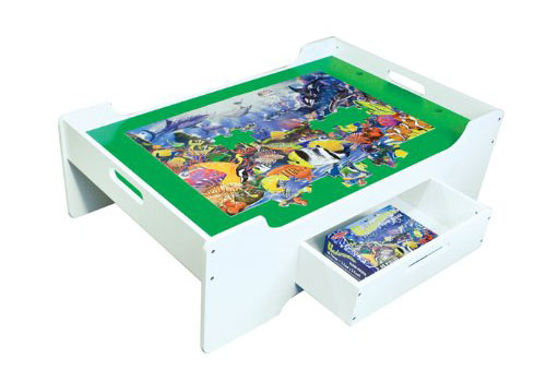 Melissa and Doug Deluxe Wooden Multi-Activity Table