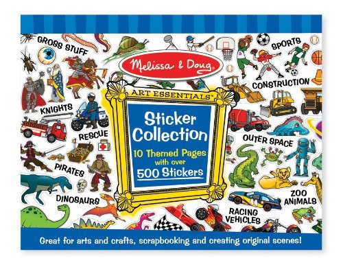 Melissa and Doug Sticker Collection - Stickers for Kids