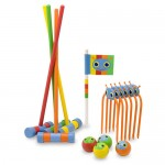 Melissa & Doug Sunny Patch Happy Giddy Croquet Set Is Ideal Summer Toy for Everyone