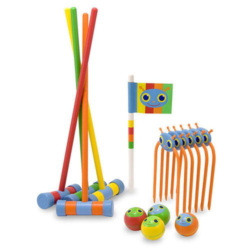 Melissa and Doug Sunny Patch Happy Giddy Croquet Set