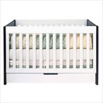 Mercer 3-in-1 Convertible Crib - Comprehensive Bedding for Your Baby