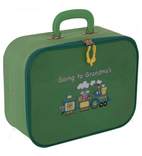 Mercury Luggage Going to Grandma's Children's Train Case