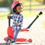 Micro Mini2go Deluxe Scooter Grows with Your Children