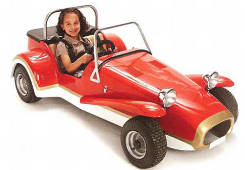 Electric Vehicles For Kids >> Mini Seven For Rich Kid By The House Of Mini Electric Vehicles