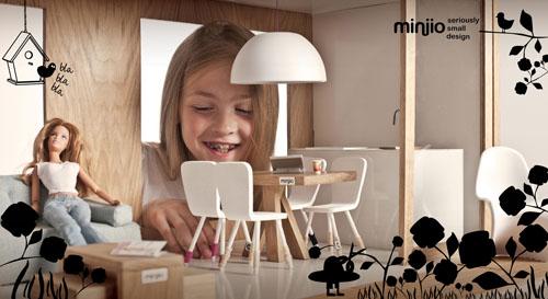 Miniio Modern Dollhouse