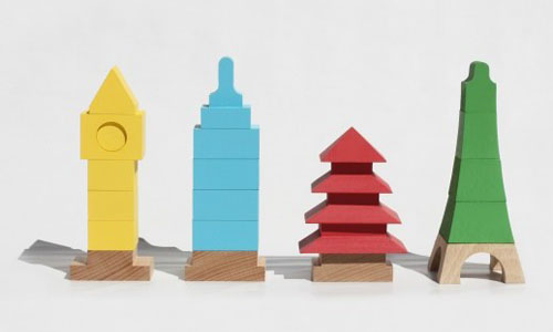 Mitoi Miworld Architectural Building Blocks Re-Create Iconic Buildings from Around The World