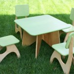 The Modern Chair and Table Set Is Your Kid's Ultimate Furniture