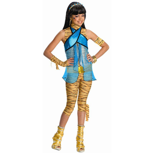 Monster High - Cleo de Nile Child Costume - Top 20 Kids Halloween Costumes