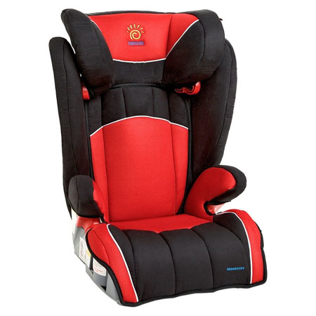 Monterey Booster Car Seat Features Comfort, Safety And Great Aesthetics