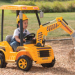 Motorized Dirt Digger : Ride-on Construction Toy for Your Little Constructor