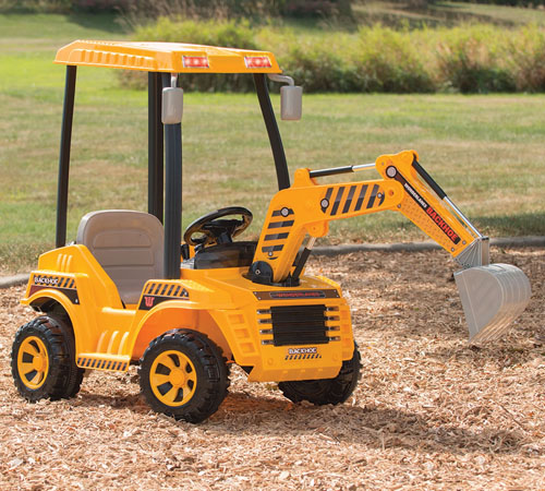 Motorized Dirt Digger for Your Little Constructor
