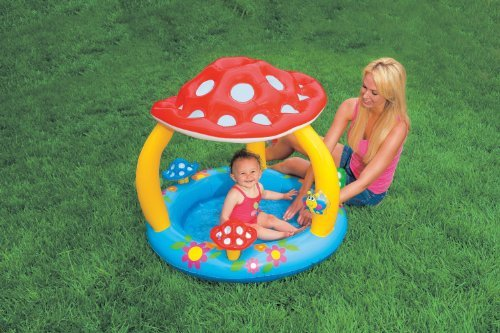 Funny Mushroom Baby Pool For Childern Under 3 Years Old