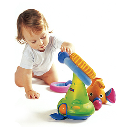 Let Your Baby Engage with Tiny Love Musical Stack and Ball Game