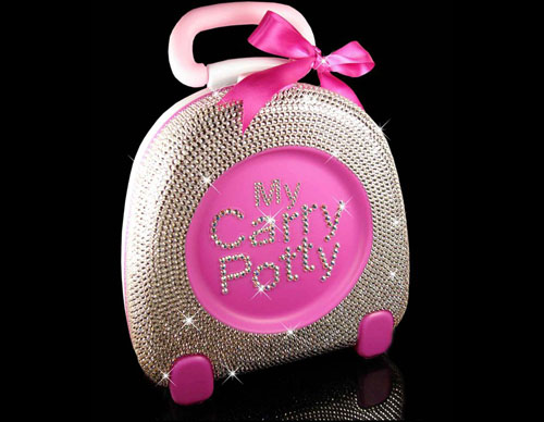 My Carry Potty in Swarovski Crystal