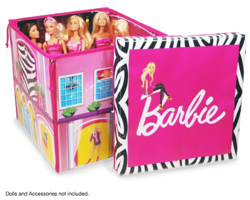 Neat-Oh! Barbie ZipBin Dream House Toybox and Playmat