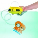 Octonauts Gup-D Barnacles and Manta Ray Playset For Fun Bath Time