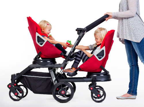 Modern Orbit Baby Double Helix Double Stroller : Strolling Time Is ...
