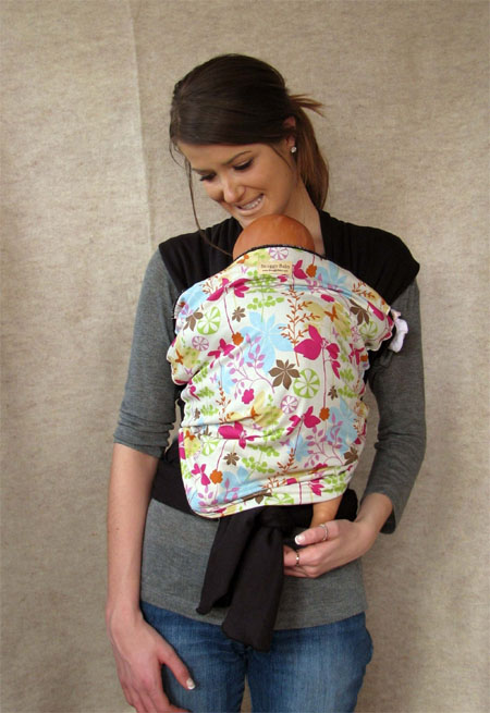 organic cotton baby wrap carrier
