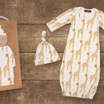 Milkbarn Organic Newborn Gown and Hat Set is Super Soft and Cute