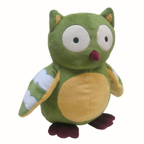 Owl Toys For Babies - Lambs and Ivy Enchanted Forest Plush Owl