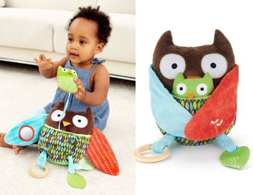 Owl Toys For Babies - Skip Hop Hug and Hide Activity Toy