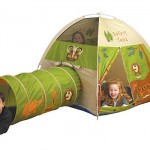 Pacific Play Tents Safari Tent and Tunnel Combo : Welcome To The Jungle Kids!
