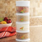 Packin' SMART Stack-N-Seal Storage System Allows Convenient Traveling