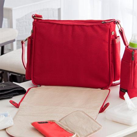 paris romance diaper bag