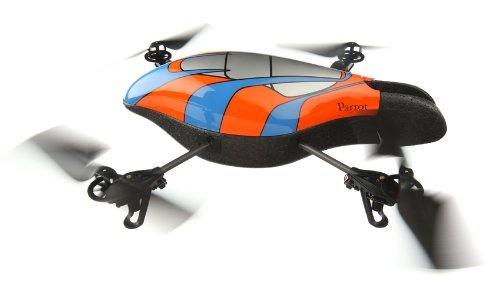 Parrot Ar.Drone Quadricopter Controlled by iPhone/iPod touch/iPad