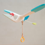 Eguchi Toys Bird Mobile - Pelican and Baby Bird for Little Hands