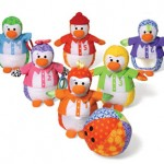 Watch Your Baby as a Master Bowler with Infantino Penguin Bowling Plush Set