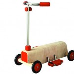 PlanToys Large Scale Scooter : Your Kids Will Love this Perfect Playful Wooden Scooter