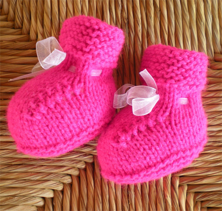 perfect fuchsia booties