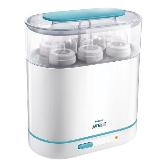 Philips AVENT Electric Steam Sterilizer - 3-in-1 sterilizer