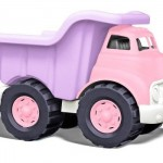 Eco-Friendly Pink Dump Truck for Little Girl