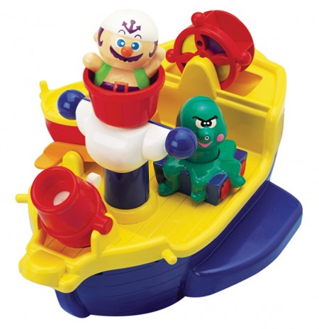 Make Your Tub a Wide Open Sea with the Pirate Ship Bath Toy