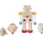 Plan Toys Build-A-Robot Teaches Your Children about Emotions and Different Tactile Experiences