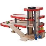 Plan Toys City Series Parking Garage Stimulates Your Children Creativity