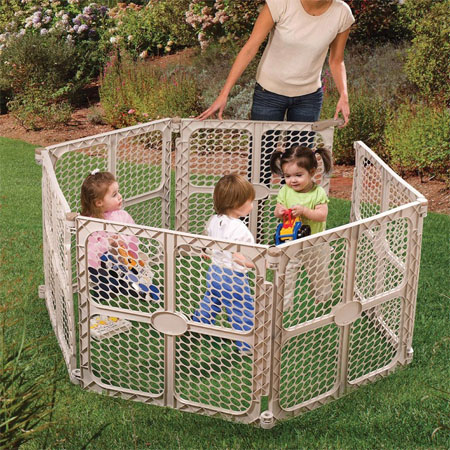 Play Safe Playpen Offers A Secure Surrounded Playground For Your Kids