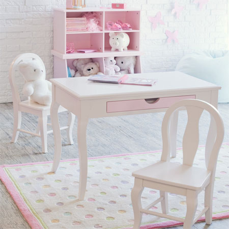 Plum Garden Table And Chair Set Offers MultiPurpose Use For Your – Girls Table and Chair