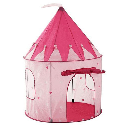 Poko Girl's Playhouse Pink Princess Castle Play Tent
