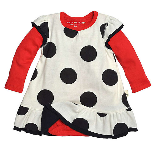 Polka Dot Dress Set from Burt's Bees Baby