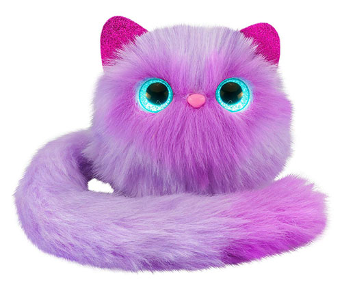 Pomsies Boots Plush Interactive Pet in Purple Makes Purrrfect Christmas Toys of 2018