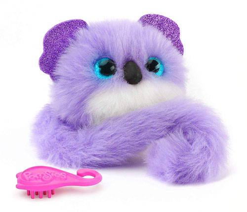 Pomsies Koala Plush Interactive Pet in Purple Makes Purrrfect Christmas Toys of 2018