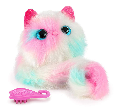 Pomsies Patches Plush Interactive Pet in White Makes Purrrfect Christmas Toys of 2018