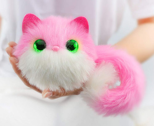 Pomsies Pinky Plush Interactive Pet in White Makes Purrrfect Christmas Toys of 2018