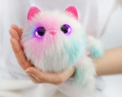 Pomsies Snowball Interactive Pet in White Makes Purrrfect Christmas Toys of 2018