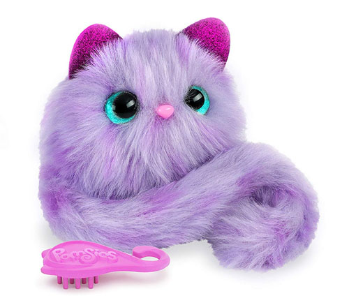 Pomsies Speckles Interactive Pet in Purple Lavender Makes Purrrfect Christmas Toys of 2018